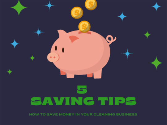 How to Save Money In Your cleaning business