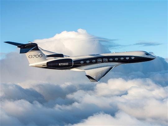 Gulfstream G700 sets speed records
