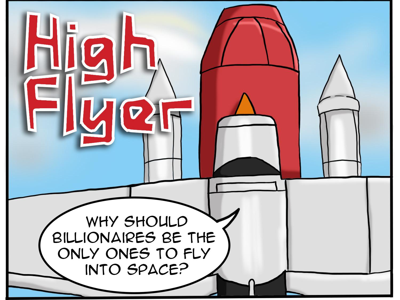 High Flyer Cartoons