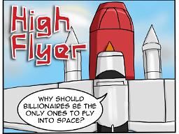 High Flyer - Space Race