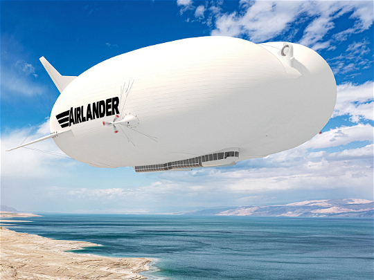 RED Aircraft provides technology to power Airlander 10