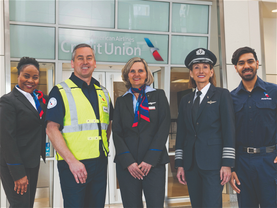 Who is American Airlines Credit Union?