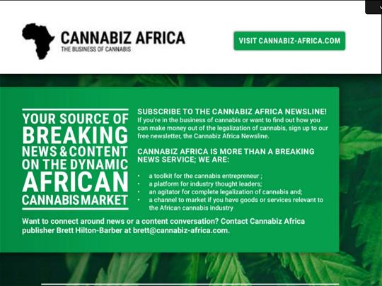 Ad - Cannabiz Africa 02