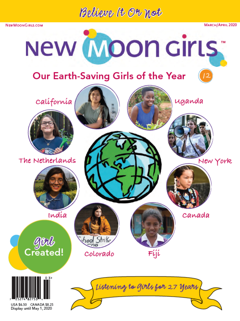 New Moon Girls March-April 2020